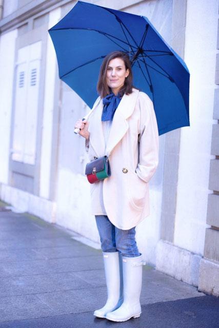 Challenge Slow Fashion • Look 13 {tenue de pluie}