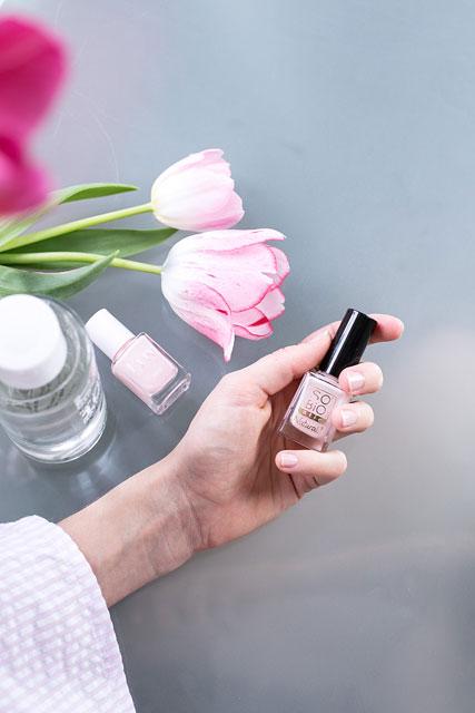 Vernis Non-toxiques & Dissolvant 100% Naturel À La Rose