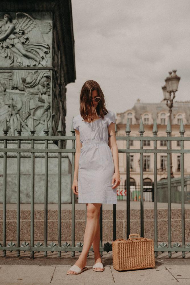 Tenue d'été romantique & éthique avec Dressing Responsable