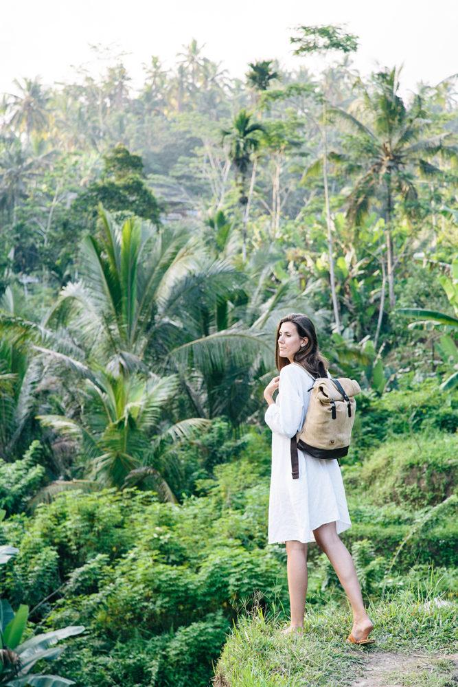 Sac à dos éco-responsable • Rizières de Tegalalang, Bali