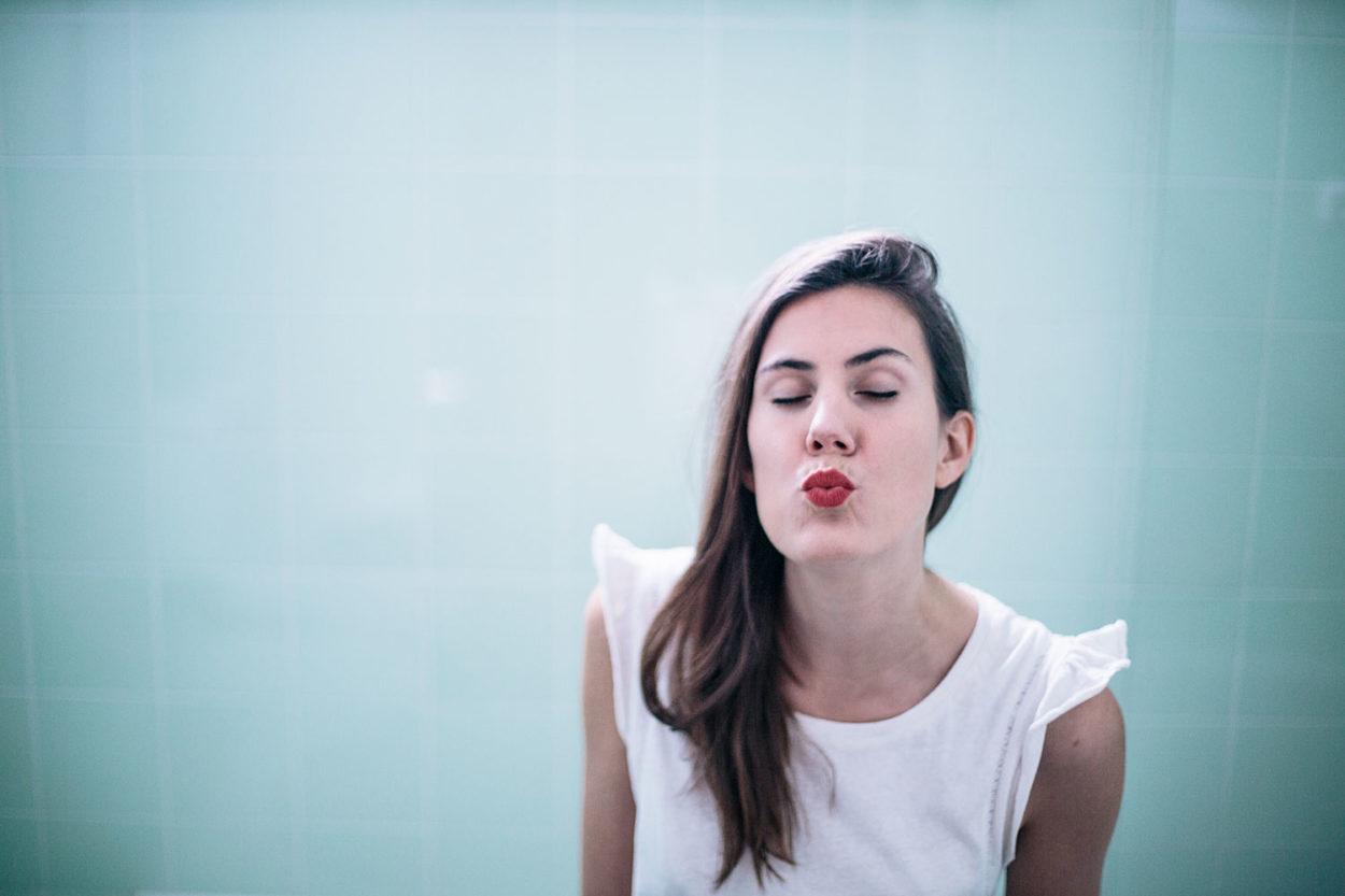 rouge à lèvres rouge Ilia