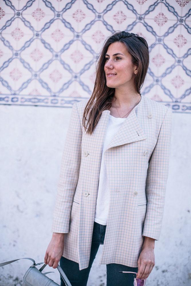 La veste à carreaux vintage dégottée par le boyfriend