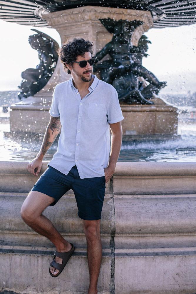 Short et chemise en coton bio - Bloomers.eco