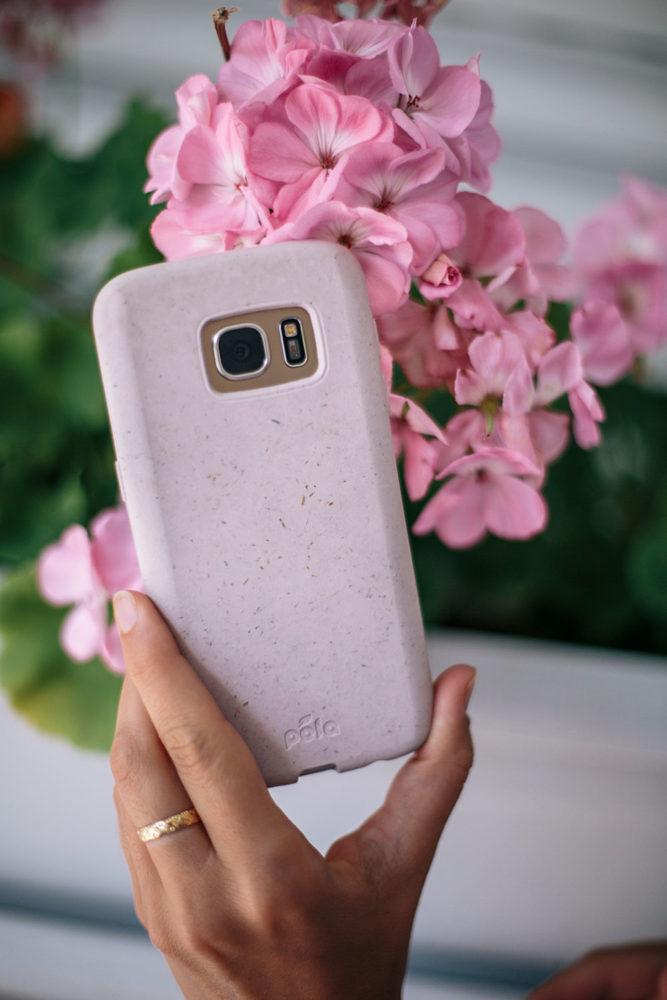 Coque Samsung écologique rose