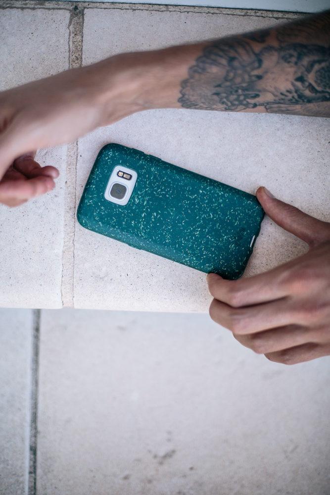 Coque Samsung écologique compostable