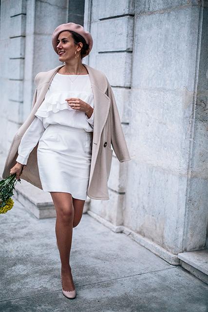 Comment porter le blanc en hiver ? 2 idées de tenues éco-responsables