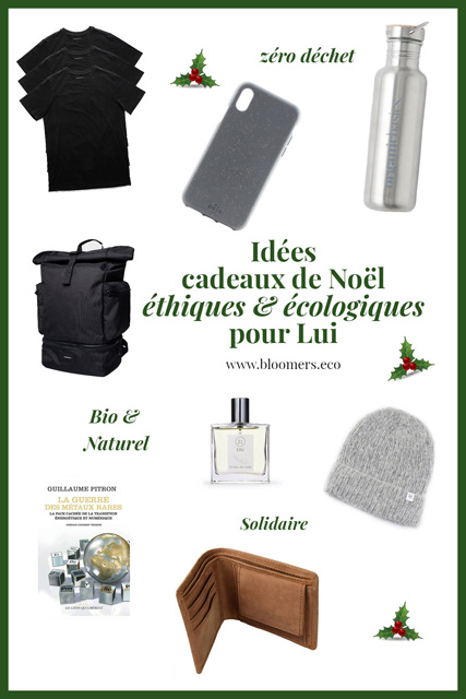 Idées cadeaux de Noël écologiques et éthiques pour Lui