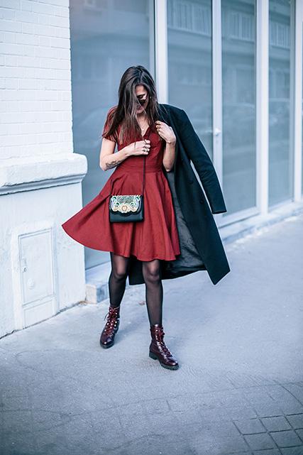 La petite robe rouge éthique pour la Saint Valentin
