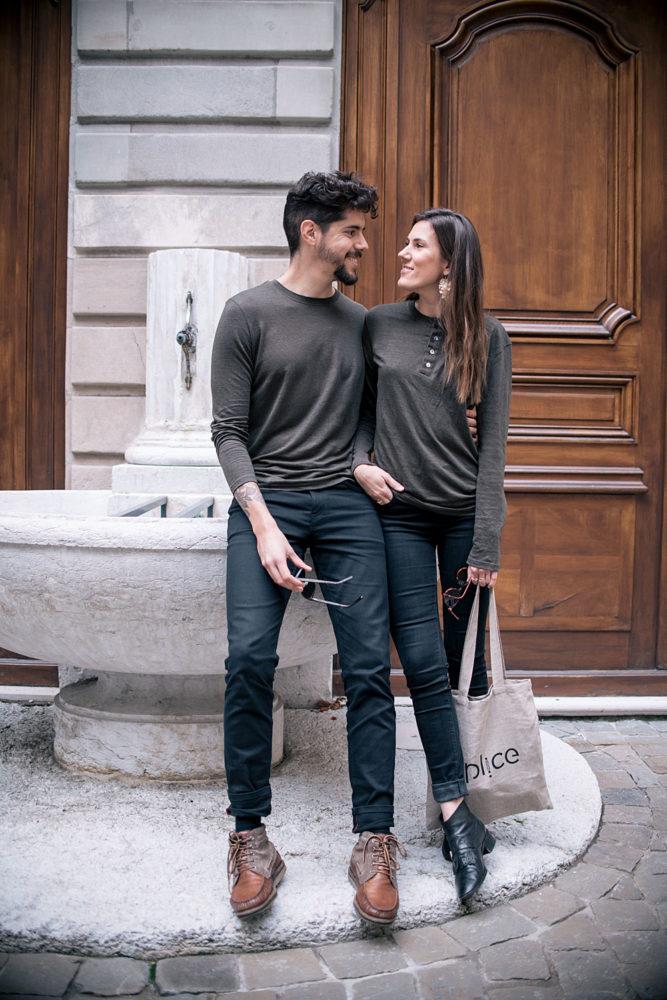 T-shirts en lin SPL!CE éco-conçus en France pour Homme & Femme