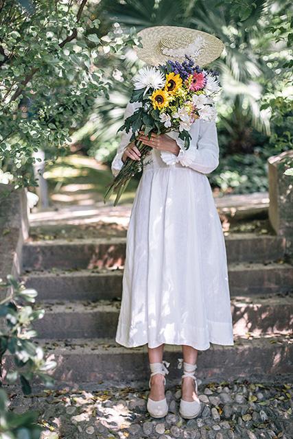 Les robes de mariée en lin, Son de Flor – poétiques, écologiques et durables !