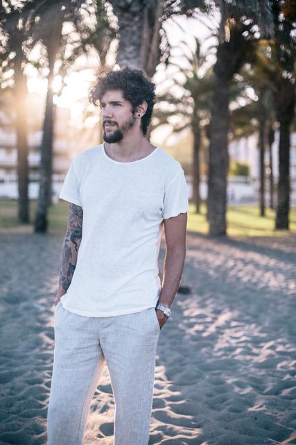7 T-shirts basiques écologiques homme