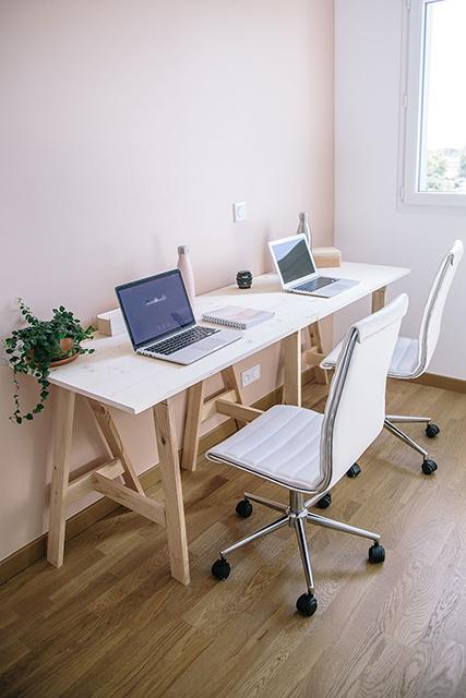Notre mobilier écologique Partie 1 – chambre & bureau