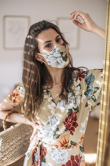 Masque barrière lavable Zéro Déchet