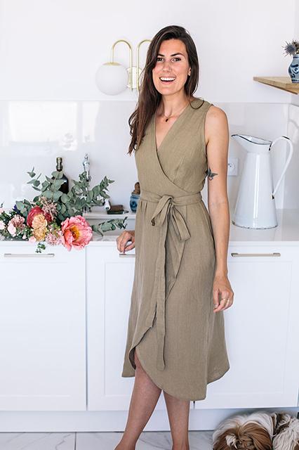 La nouvelle collection de vêtements en LIN d'Aatise !