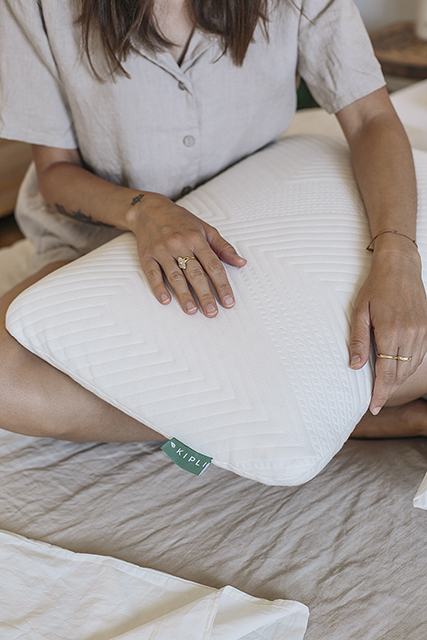 J'ai testé l'oreiller éco-responsable (& vegan) Kipli