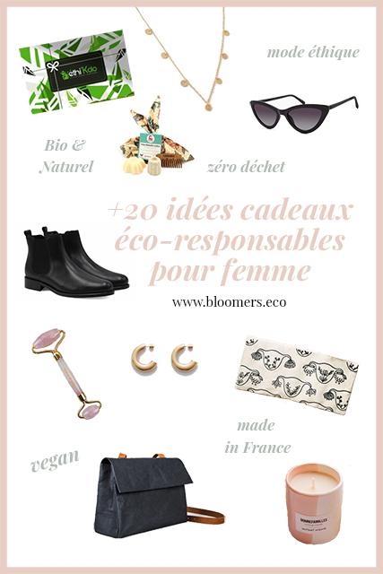+20 idées cadeaux éco-responsables pour femme