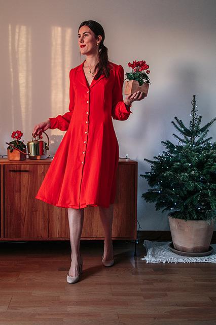 Ma sélection accessoires & vêtements rouges éco-responsables 🎄💃