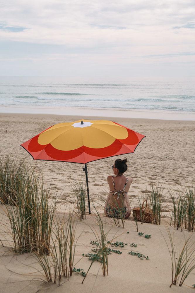Le parasol de plage éco-responsable
